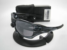 New Oakley Sport Pit Bull Crystal Black w/Black Iridium 9127-02