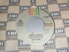 "7"" - Becky Hobbs / Wheels In Emotion & Wheels in Emotion - US PROMO MINT´# 0044"