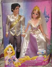 RAPUNZEL-TANGLED AND FLYNN RIDER WEDDING DOLLS SET