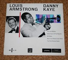 Single 7 Louis Armstrong Danny Kaye The five Pennies London A-110 / BL 8019-P