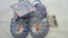 Next Baby Girl Frozen Jelly Bean Pram Beach summer Shoes size 5 glitter  BNWT *