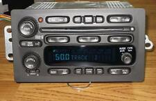 GM GMC CHEVY TAHOE SUBURBAN H2 6 DISC CHANGER SILVERADO CD RADIO Stereo UNLOCKED
