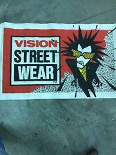 Vision Street Wear Poster Banner Skateboard