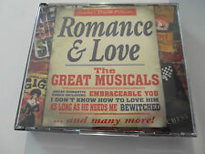 Various Artists - Romance & Love / Great Musicals (2 x CD Album) Used very good