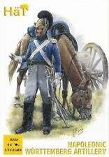 Hat industries 1/72 Napoleonic Wurttemberg Artillery (16 w/4 Cannons) HAT8232