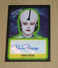 2015 Topps Star Wars Journey to the Force autograph Pam Rose as LEESUB SIRLIN