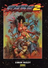 F.A.K.K.2  (Heavy Metal)  GREAT ARTBOOK BY SIMON BISLEY  NEUWARE / NEW