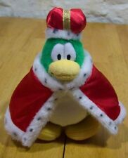 "Disney Club Penguin KING PENGUIN 8"" Plush STUFFED ANIMAL Toy"