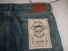 Polo Ralph Lauren Sullivan Slim Fit Jeans Lander Repaired 32/32 Neu NP239€ Rar!