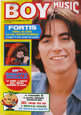 BOY MUSIC 24 1982 Alberto Fortis Alice Ron Classix Nouveaux Foreigner Dik Dik
