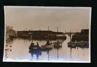 Cornwall MEVAGISSEY Harbour Boats used 1949 RP PPC