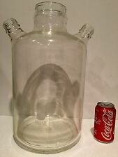 Bellco 8000 mL Laboratory Glass Reactor, 3 Neck Spinner Flask  No Caps or Rotors