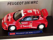 1/18 PEUGEOT 206 WRC RALLY DI GRAN BRETAGNA 2004 H. SOLBERG