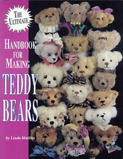 ULTIMATE HANDBOOK FOR MAKING TEDDY BEARS Tips- Sewing Paws Attaching Ears & Arms