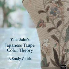 ENGLISH EDITION: Yoko Saito's JAPANESE TAUPE COLOR THEORY Study Guide NEW BOOK