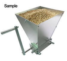New 2 Rollers Barley Crusher Malt Grain Mill 2-Roller Mill for Home Brewing