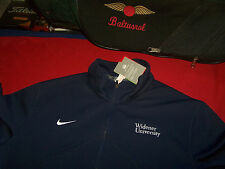 NIKE . DRI-FIT PERFORMANCE - L - NAVY - STAY WARM - 1/2 ZIP COLLAR - GOLF TENNIS