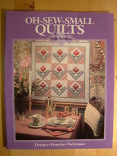 Oh-Sew-Small Quilts by Linda Baltzell Wright 10 Patterns Designs Techniques