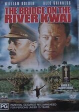 The Bridge On The River Kwai Alec Guinness William Holden Region 4 DVD in VGC