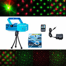 Mini Projector R&G DJ Disco Light Stage Xmas Party Laser Lighting+remote Hot