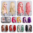 "28""/70cm Wig Long Wavy Curly Fancy Dress Party Full Cosplay Fashion Hair Ladies"