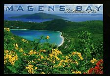 Recipe postcard US Travel  Curried Pumpkin soup St. Thomas Virgin Islands VI