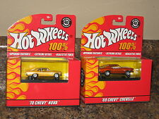 Hot Wheels '08 100% 40th Anniversary Lot 1969 Chevelle 1970 Nova Chevy Chevrolet