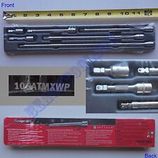 "New Snap On 1/4"" Drive Wobble Plus Ratchet Extension 6 Pcs Set 106ATMXWP - USA"