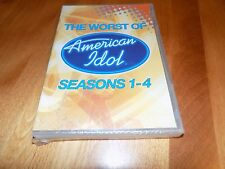 THE WORST OF AMERICAN IDOL SEASONS 1-4 TV Classic Performance Series DVD NEW