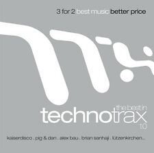 CD The Best In Techno Trax by Various Artists 3CDs