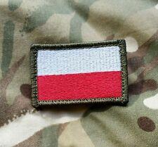 Polish ARMY FLAG POLAND patch color 85x50