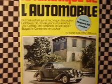 FANATIQUE AUTO n°157 / BUCCIALI / LAMBORGHINI MIURA / WALTER CHRISTIE/HOTCHKISS