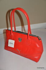 "Puma Ferrari LS Hand bag - Red - 14"" x 8""  MSRP = $86.00"