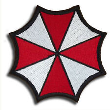 Resident Evil Embroidered Badge Patches RED Umbrella Corporation Patch