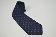 [80 30] GIORGIO ARMANI NWT MENS NAVY BLUE 9.5 CM 3.75 IN SILK TIE MSRP $145.00