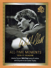 2015-16 , UD , SP AUTHENTIC , WILLI PLETT , CARD #134 , ALL-TIME MOMENTS , AUTO