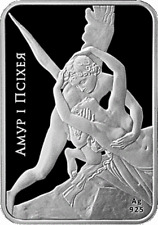 Belarus 2010 Cupid and Psyche - World of sculptures 20 rubles Proof Silver Coin