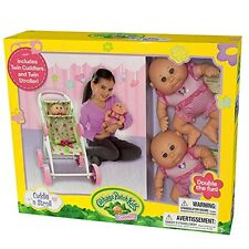 Cabbage Patch Kids Cuddler Cuddle n' Stroll Twins and Stroller