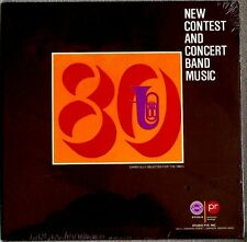 New Contest & Concert Band Music 1980 Studio P/R Inc MARCHES Sealed LP