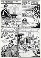 FINALE DE COUPE FOOTBALL (ROBERT HUGUES) PLANCHE ORIGINALE PILAR SANTOS PAGE 29