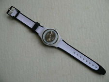 """SWATCH WATCH """"RUGBY BALL"""" VERY RARE NEW COLLECTABLE MINT CONDITION GLOWS IN DARK"""