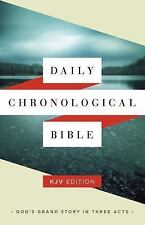 Daily Chronological Bible: KJV Edition, Hardcover BRAND NEW!!!