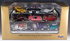 Hot Wheels 100th Anniversary of the Automobile Limited Edition 9 Car Set MIB