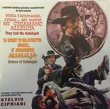 STELVIO CIPRIANI - THEY CALL ME HALLELUJAH/RETURN OF ..-Western Soundtrack CD