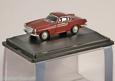 VOLVO P1800 in Red 1/76 scale model OXFORD DIECAST