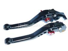 SUZUKI GS500 GS500E GS500F SHORT BLACK BRAKE CLUTCH LEVERS ROAD RACE TRACK R13A4