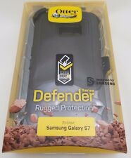 OtterBox Defender Case & Holster for Samsung Galaxy S7 Black 100% Authentic NEW