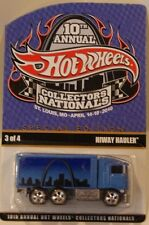 2010 Hot Wheels 10th Nationals/Convention Hiway Hauler Only 2400 Made
