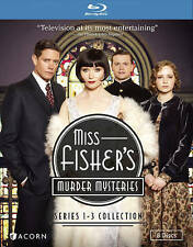 Miss Fishers Murder Mysteries: Series 1-3 Collection (Blu-ray Disc, 2016)