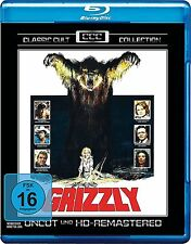 GRIZZLY Uncut Remastered CLASSIC CULT COLLEZIONE William Girdler BLU-RAY nuovo